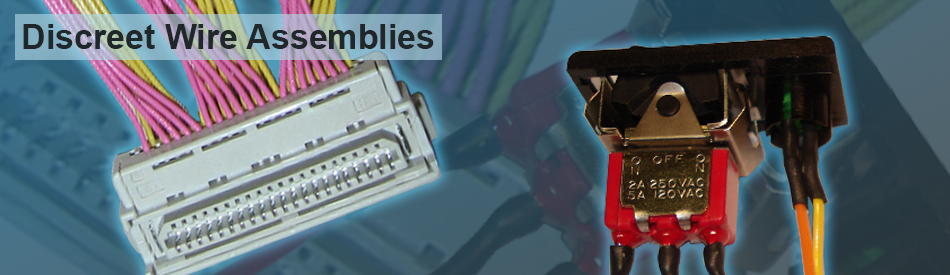 discrete wire cable assemblies