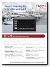 Cirris CR guided assembly system