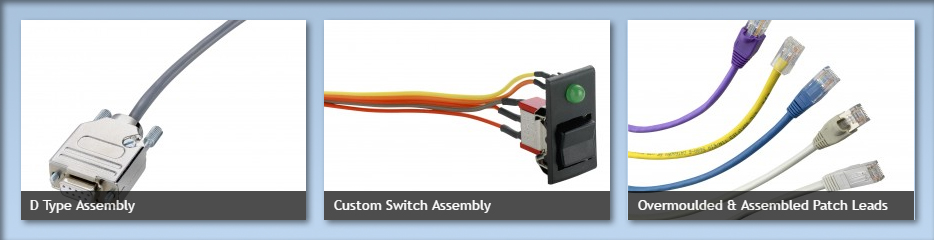 Custom Bespoke Cable Assembly Manufacture